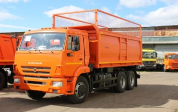 New silo carrier based on the chassis KAMAZ 65115