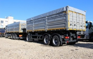 Tipper trucks on VOLVO chassis - advantage in detail